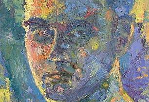cliff, self-portrait