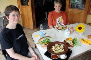Lunch in the Coromandel at Driving Creek Cafe