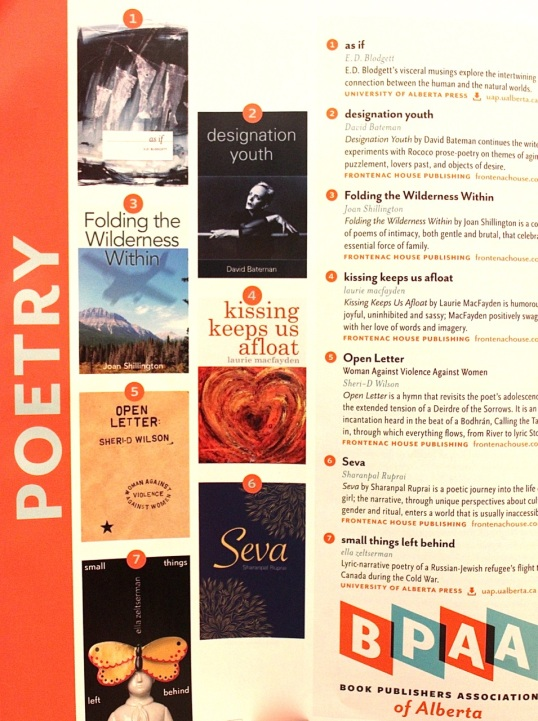 Alberta Views poetry page